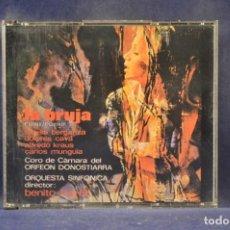 CDs de Música: R. CHAPÍ / R. CARRIÓN / TERESA BERGANZA / DOLORES C. / DIRECTOR: BENITO LAURET - LA BRUJA - 2 CD. Lote 245582885