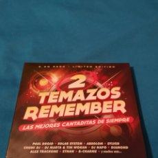CDs de Música: TEMAZOS REMEMBER 2CD PRECINTADO DJ MARTA. Lote 245584175