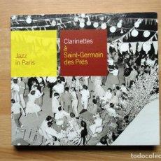 CDs de Música: JAZZ IN PARIS - CLARINETTES À SAINT-GERMAIN DES PRÉS. Lote 245584770