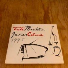CDs de Música: TETE MONTOLIU & JAVIER COLINA - 1995 (CD). Lote 245587475