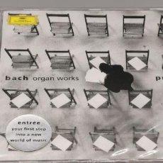 CDs de Música: CD BACH - ORGAN WORKS POR SIMON PRESTON. DEUTSCHE GRAMMOPHON, 1989 SIN DESPRECINTAR. Lote 245610880