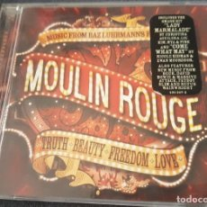 CDs de Música: MOULIN ROUGE CD BANDA SONORA PELÍCULA BAZ LHURMANN. Lote 245616975