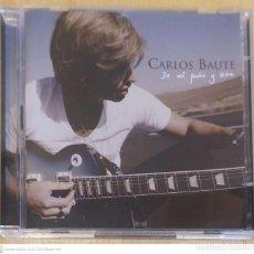CDs de Música: CARLOS BAUTE (DE MI PUÑO Y LETRA) CD + DVD 2008 EDICIÓN LIMITADA - FRANCO DE VITA. Lote 245625235