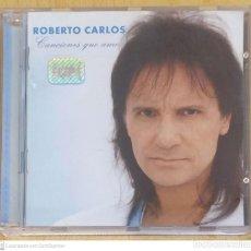 CDs de Música: ROBERTO CARLOS (CANCIONES QUE AMO) CD 1997 BRASIL. Lote 245626525