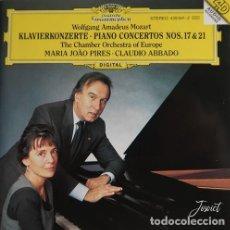 CDs de Música: MOZART KLAWIERKONZERTER – PIANO CONCERTOS NOS. 17 & 21. Lote 245639500
