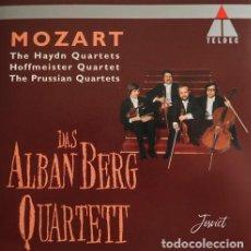CDs de Música: MOZART STRING QUARTET (4 CD'S). Lote 245640110