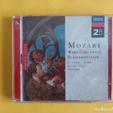 CDs de Música: MOZART - WIND CONCERTOS 2 CD DECCA MUSICA. Lote 245643180