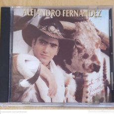 CDs de Música: ALEJANDRO FERNANDEZ (ALEJANDRO FERNANDEZ) CD 1992 USA - VICENTE FERNANDEZ. Lote 245644090