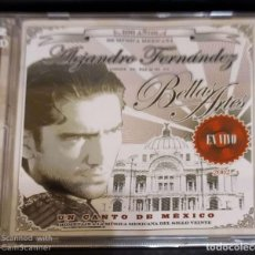 CDs de Música: ALEJANDRO FERNANDEZ (DESDE EL PALACIO DE BELLAS ARTES - EN VIVO) 2 CD'S 2002. Lote 245645950