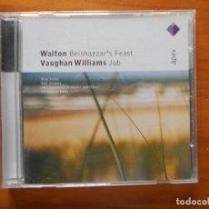 CDs de Música: CD WALTON BELSHAZZAR'S FEAST - VAUGHAN WILLIAMS JOB (X3). Lote 245646540