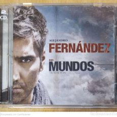 CDs de Música: ALEJANDRO FERNANDEZ (DOS MUNDOS - TRADICION + EVOLUCION) 2 CD'S 2009. Lote 245646605
