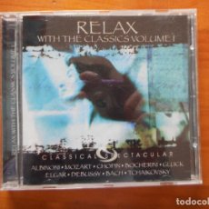CDs de Música: CD RELAX WITH THE CLASSICS VOLUME 1 (X3). Lote 245650060