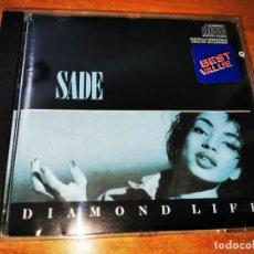 CDs de Música: SADE DIAMOND LIFE CD ALBUM DEL AÑO 1985 USA PRIMERA EDICION CONTIENE 9 TEMAS. Lote 245650495