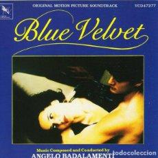 CDs de Música: BLUE VELVET - BANDA SONORA. Lote 245653805