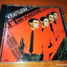 CDs de Música: KRAFTWERK THE MAN MACHINE PRIMERA EDICION CD ALBUM DEL AÑO 1986 UK CONTIENE 10 TEMAS MUY RARO. Lote 245672910