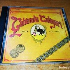 CDs de Música: GABINETE CALIGARI GRANDES EXITOS DESDE 1981 CD ALBUM DEL AÑO 1993 CONTIENE 20 TEMAS. Lote 245711995