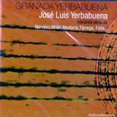 CDs de Música: JOSE LUIS YERBABUENA - GRANADA YERBABUENA. Lote 245716580