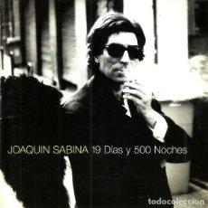 CDs de Música: JOAQUIN SABINA. 1 DIAS Y 500 NOCHES. CD. Lote 245718710