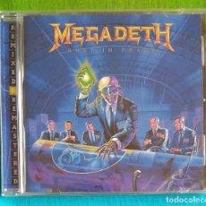 CDs de Música: MEGADETH - RUST IN PEACE CD NUEVO Y PRECINTADO - THRASH METAL HEAVY METAL SPEED METAL. Lote 245719555