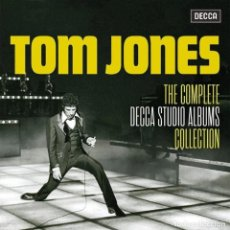 CDs de Música: TOM JONES - THE COMPLETE DECCA STUDIO ALBUMS (2020). Lote 245731010