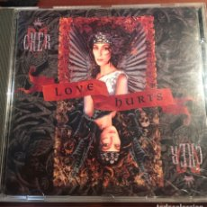 CDs de Música: CD CHER LOVE HURTS. Lote 245737375
