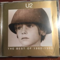 CDs de Música: U 2 - THE BEST OF 1980-1990. Lote 245738955