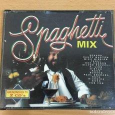 CDs de Música: DOBLE CD SPAGHETTI MIX - LA ITALO DANCE DE LOS AÑOS 80. MAX MUSIC, 1993. Lote 245741550