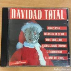 CDs de Música: CD NAVIDAD TOTAL - SINGLE MIX + LAS 12 CAMPANADAS. MAX MUSIC, 1992. Lote 245741720