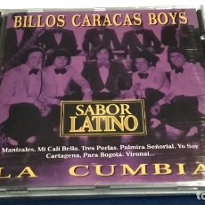 CDs de Música: CD ( ORQUESTA BILLOS CARACAS BOYS - SABOR LATINO - LA CUMBIA ) 1996 MANDARIM RECORDS- PERFECTO. Lote 245742940