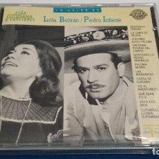 CDs de Música: CD LO MEJOR DE ( LOLA BELTRAN / PEDRO INFANTE ) 1990 PERFIL- PERFECTO. Lote 245743095