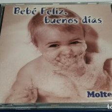 CDs de Música: CD PROMO MOLTEX ( BEBÉ FELIZ BUENOS DÍAS ) GUILLERMO CAZENAVE - PERFECTO. Lote 245743305