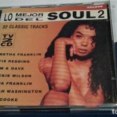 CDs de Música: CD DOBLE 2X CD ( LO MEJOR DEL SOUL 2 ) 1993 ARCADE - PERFECTO. Lote 245744065