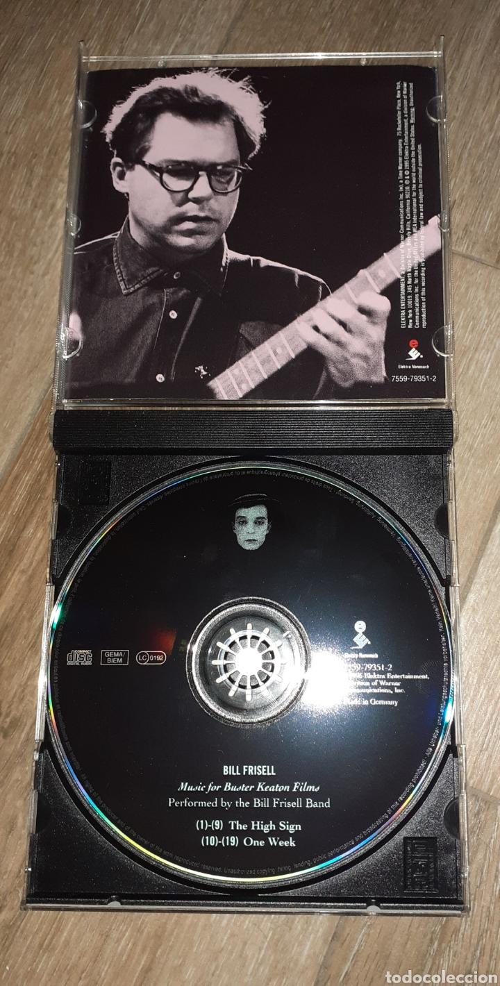 CDs de Música: Bill Frisell, the high sign/one week. Buster Keaton - Foto 3 - 245745540
