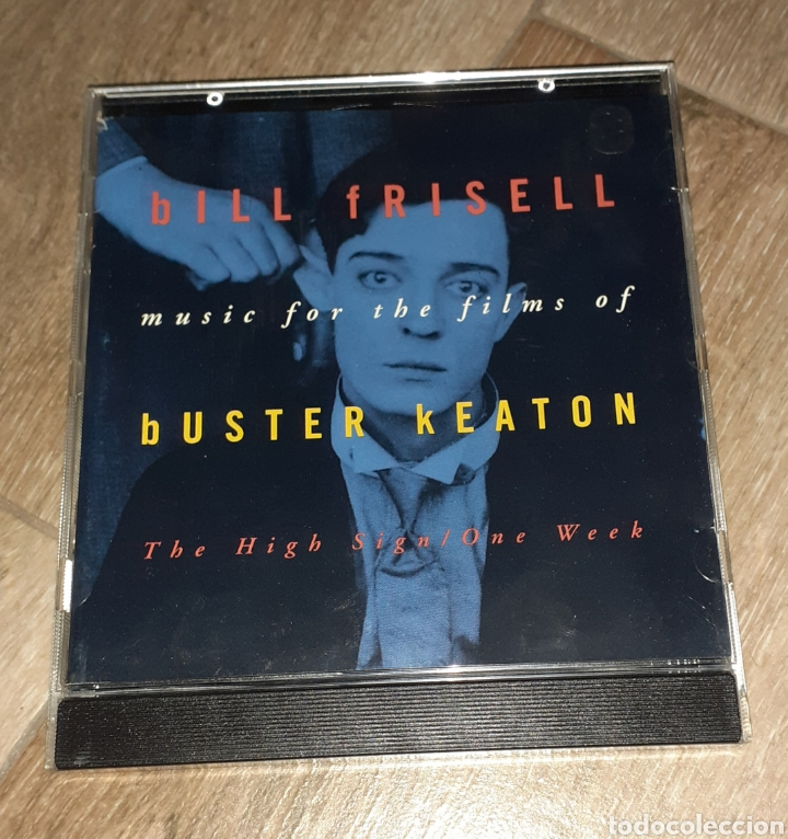 BILL FRISELL, THE HIGH SIGN/ONE WEEK. BUSTER KEATON (Música - CD's Bandas Sonoras)