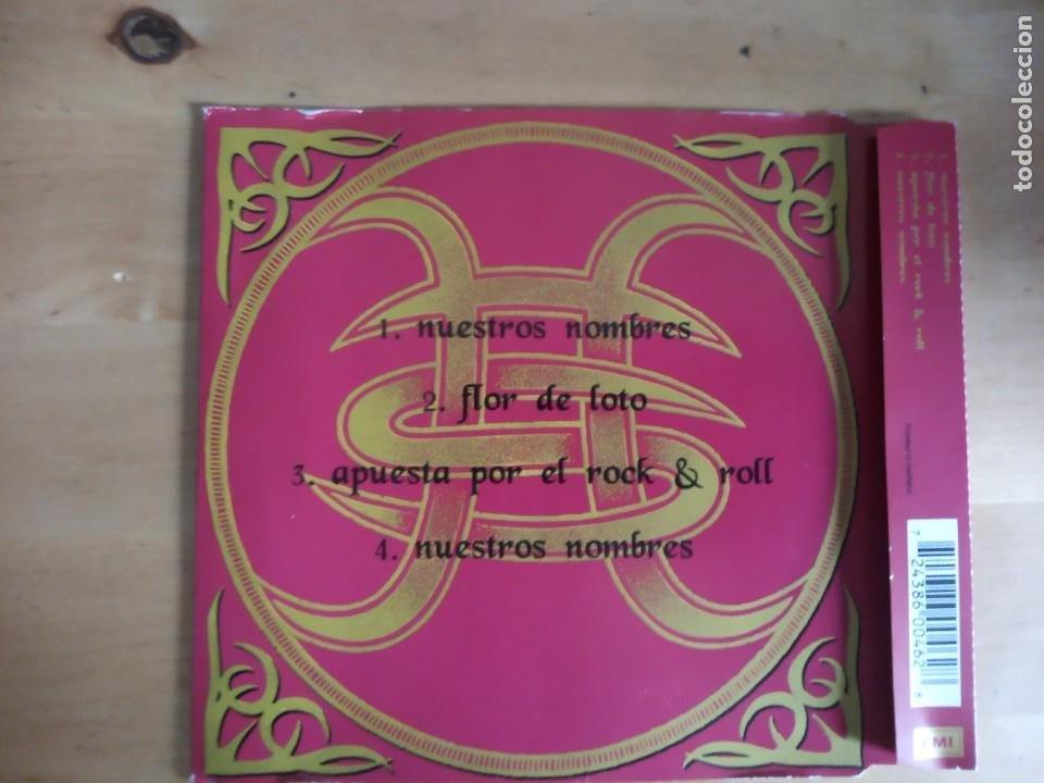 CDs de Música: Nuestros Nombres Héroes del Silencio CD single Bunbury El espíritu del vino - Foto 5 - 245759875