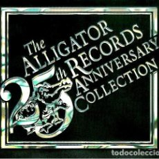 CDs de Música: THE ALLIGATOR RECORDS 25TH ANNIVERSARY COLLECTION (2CD). Lote 245761420