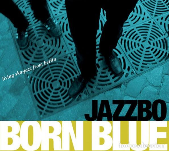 JAZZBO - BORN BLUE (Música - CD's Reggae)