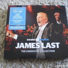 CDs de Música: CAJA DIGIPACK DOBLE CD +DVD. JAMES LAST. THE ESSENTIAL COLLECTION. Lote 245775440