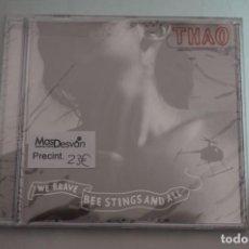 CDs de Música: CD/ PRECINTADO - THAO - WE BRAVE BEE STINGS AND ALL. Lote 245775830