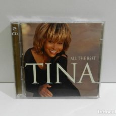 CDs de Música: DISCO 2 X CD. TINA TURNER ‎– ALL THE BEST. COMPACT DISC.. Lote 245777985