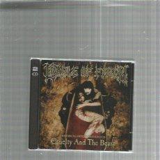 CDs de Música: CRADLE OF FILTH CRUELTY (2 CD). Lote 245779240