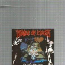 CDs de Música: CRADLE OF FILTH THE EVIL BITTER. Lote 245780615