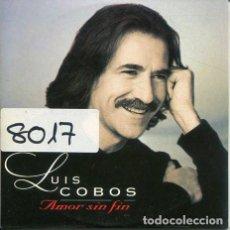 CDs de Música: LUIS COBOS / AMOR SI FIN (MEDLEY) CD SINGLE CARTON 1997). Lote 245783545