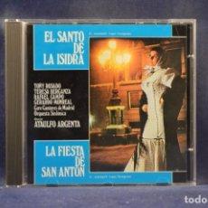CDs de Música: VARIOS; CORO CANTORES DE MADRID Y O. SINFÓNICA - EL SANTO DE LA ISIDRA / LA FIESTA DE SAN ANTON - CD. Lote 245783750