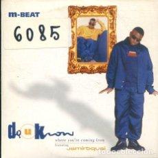 CDs de Música: M-BEAT CON JAMIROQUAI / WHERE YOU'RE COMING FROM - 2 VERSIONES CD SINGLE CARTON PROMO 1996). Lote 245783955