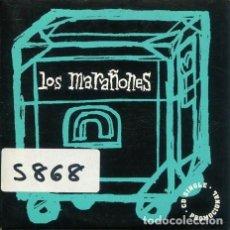 CDs de Música: LOS MARAÑONES / LA MEMORIA DEL EXTRANJERO + 3 Y ENTREVISTA (CD SINGLE CARTON PROMO 1996). Lote 245784470