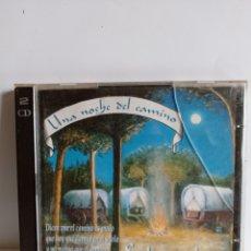 CDs de Música: DOBLE CD / UNA NOCHE EN EL CAMINO / EDITADO POR PASARELA - 1994. Lote 245788665