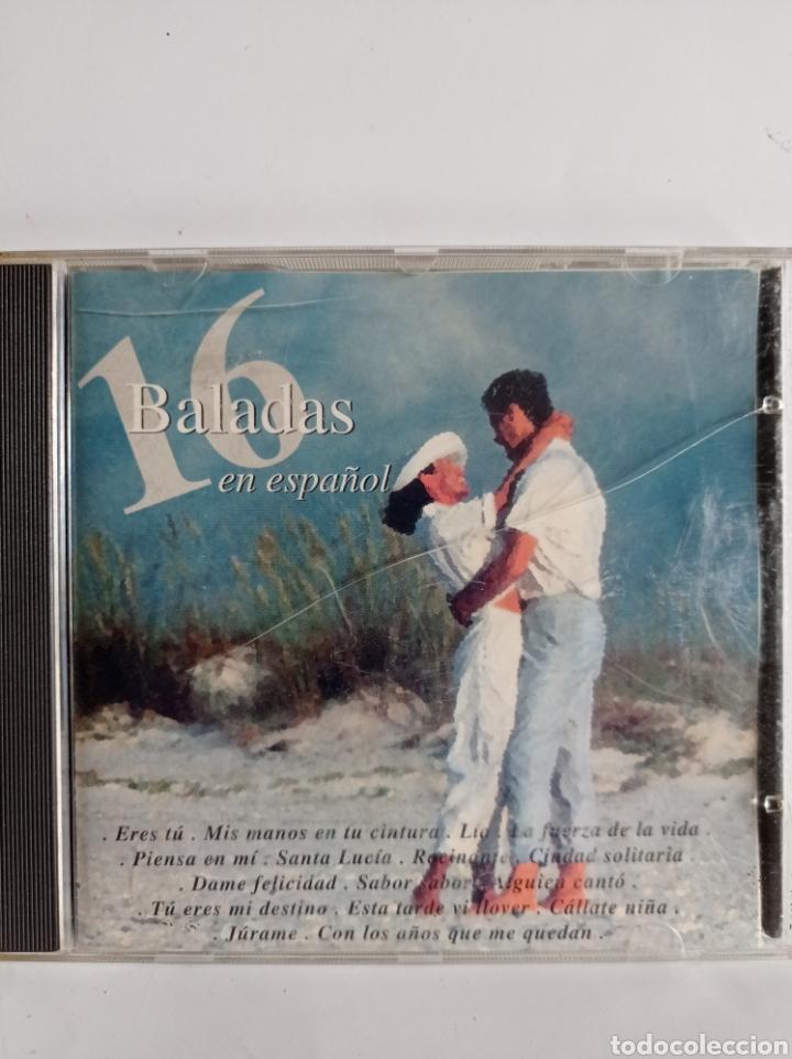 CD. DE 16 BALADAS EN ESPAÑOL / EDITADO POR CRIXTAL - 1995 (Música - CD's Melódica )