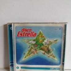 CDs de Música: CD DISCO ESTRELLA VOL.3 Y 4 CARIBE / EDITADO POR VALE MUSIC - 2001 / ALBUM DOBLE. Lote 245882655