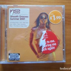 CDs de Música: CD KISS - SMOOTH GROOVES SUMMER 2001 (2 CD'S) (Z3). Lote 245884490